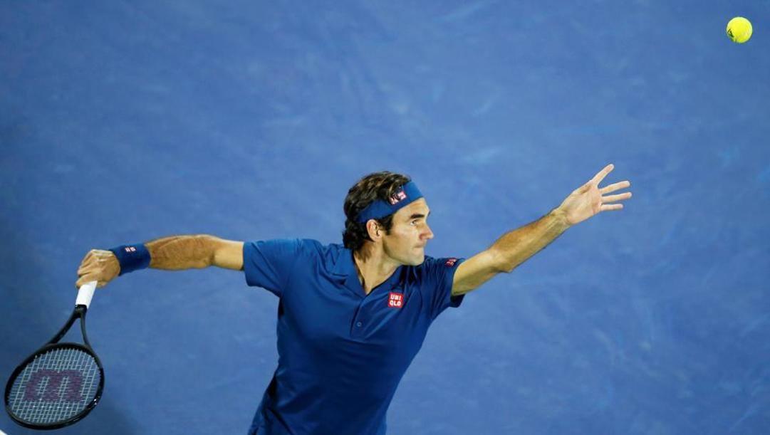 Roger Federer, 38 anni. Epa